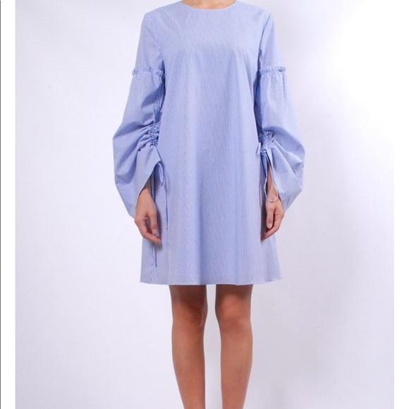 4198b5639d3f Tibi Cotton Balloon Sleeve Dress. M_5acfa93136b9de38298fb143